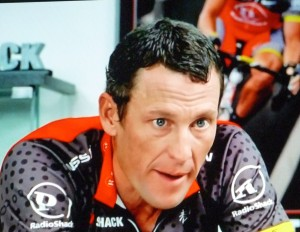 Lance Armstrong Focused